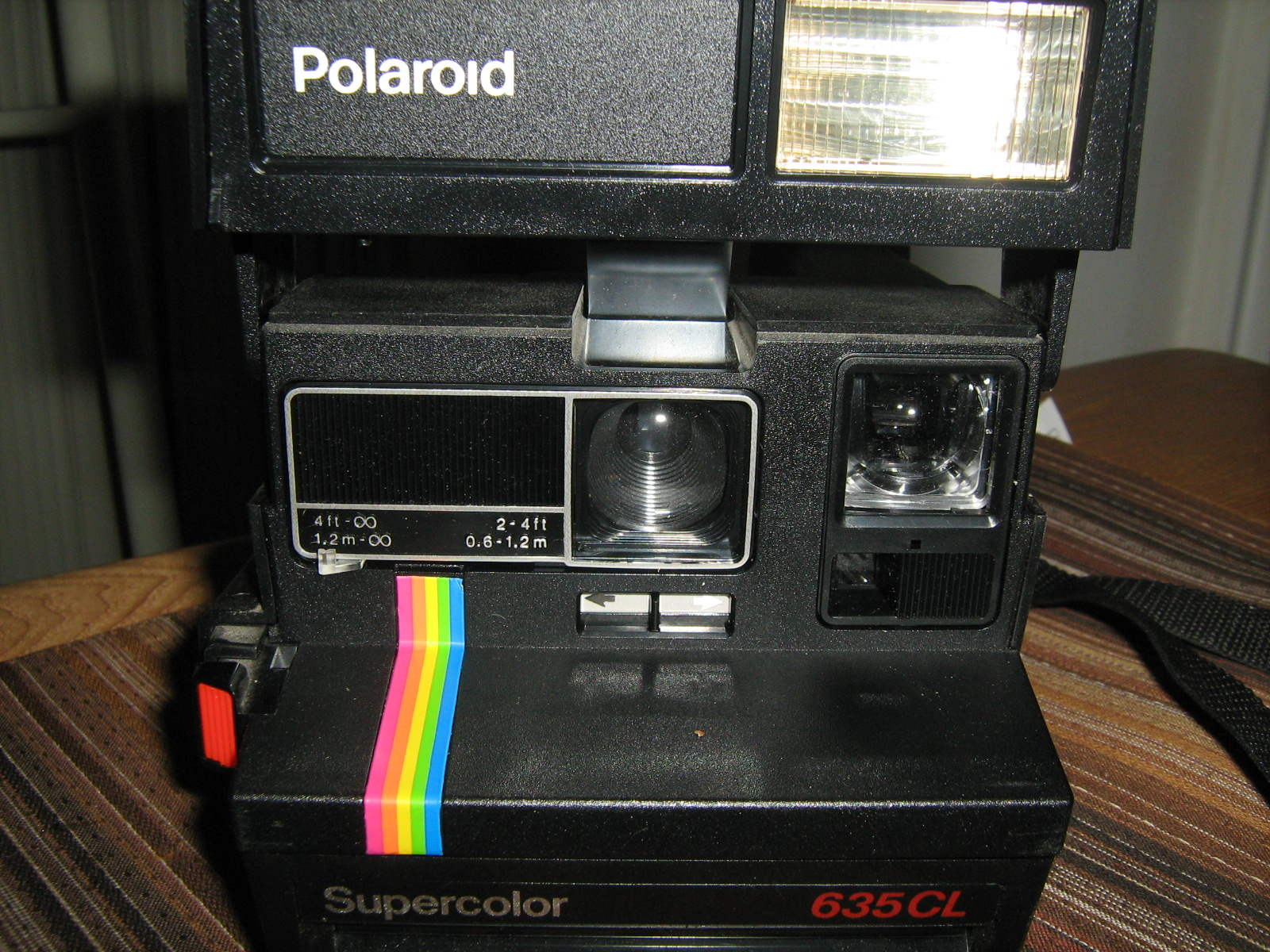 Vintage Polaroid Camera - Supercolor 635CL