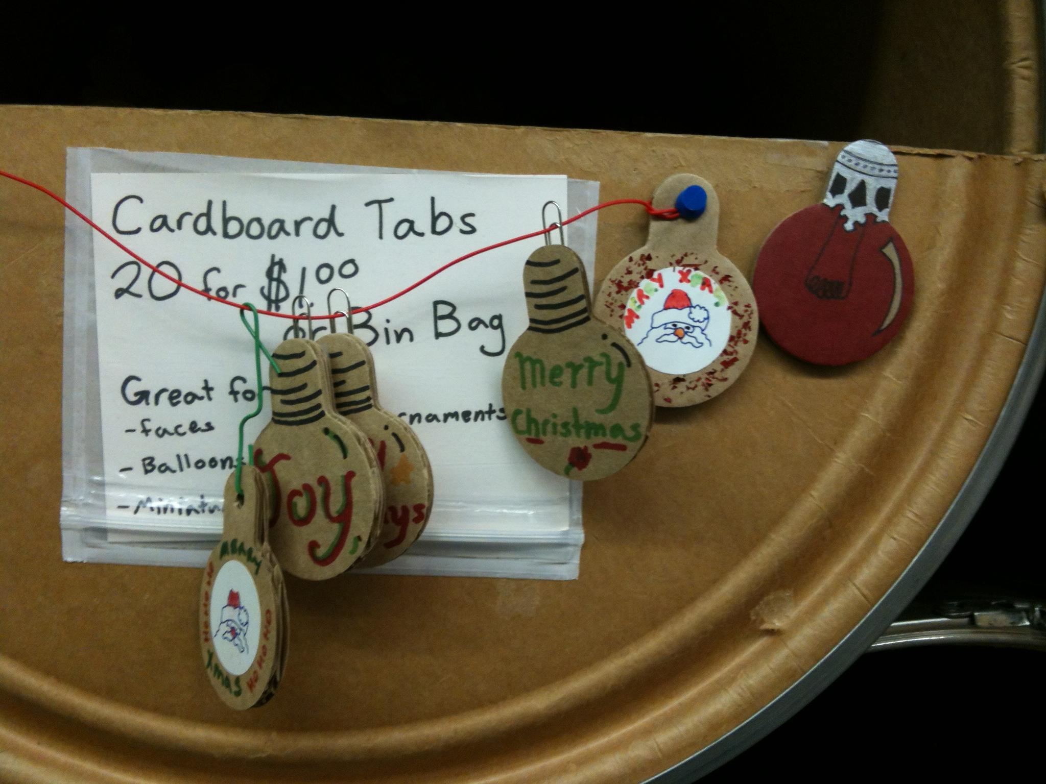 Cardboard Tabs