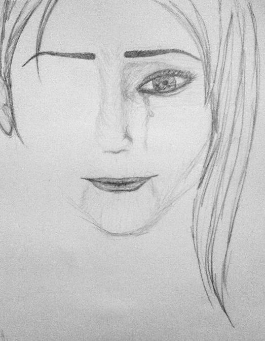 Pencil sketch, 10/14/2008
